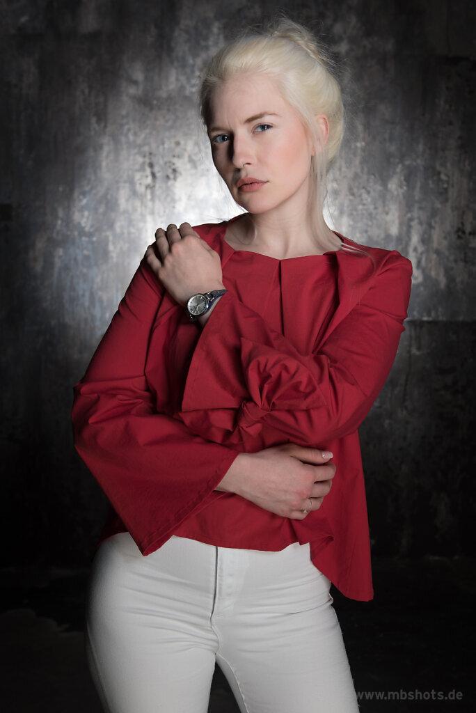Rote Bluse 2